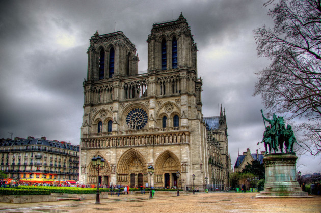 Beautiful Churches In Europe: Notre Dame de Paris
