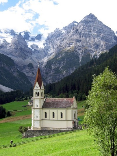 Beautiful Churches In Europe: Stelvio Pass Church