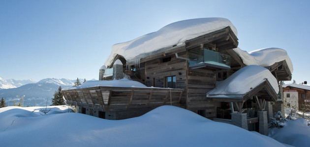 Most Expensive Ski Chalets In The World: Chalet Seven - Crans-Montana