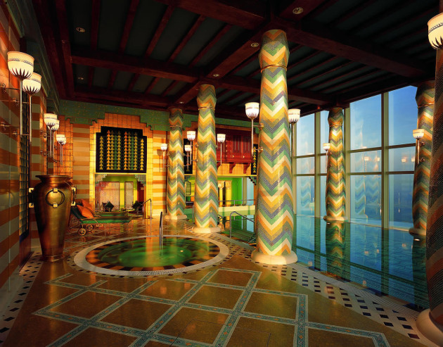 The Burj Al Arab - Assawan Spa & Health Club - Interior