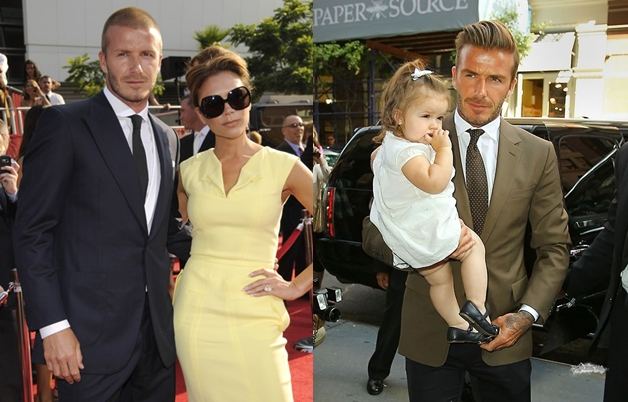 David Beckham Street Fashion Style