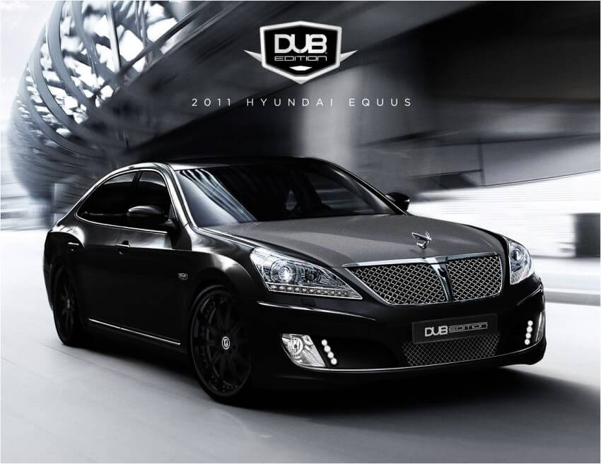 Top 10 Most Expensive Tuned Cars in the World | DUB Edition Hyundai Equus