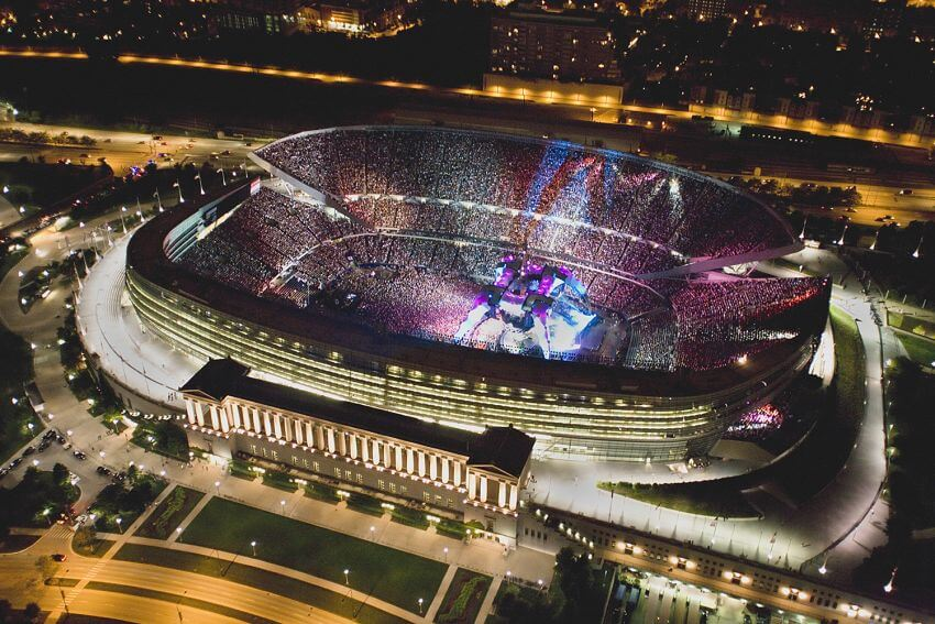 Top 10 Most Expensive Stadiums in the World - EALUXE | Soldier Field is the 3rd smallest stadium in the NFL.