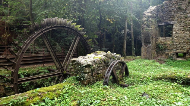 Amazing Abandoned Places Around the World - Part3: Abandoned Blade Mill, France