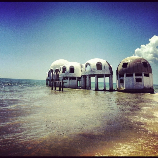 Amazing Abandoned Places Around the World: Abandoned dome houses in Southwest Florida