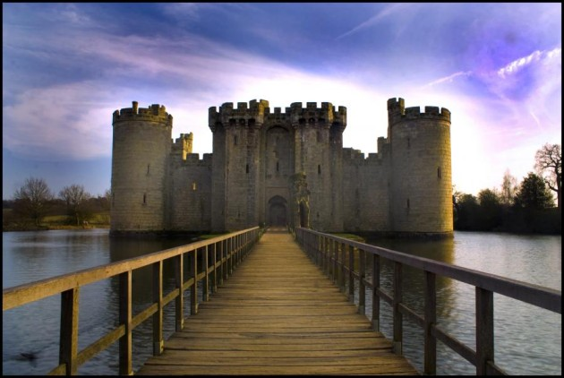 Best Castles To Visit Around the World: Bodiam Castle