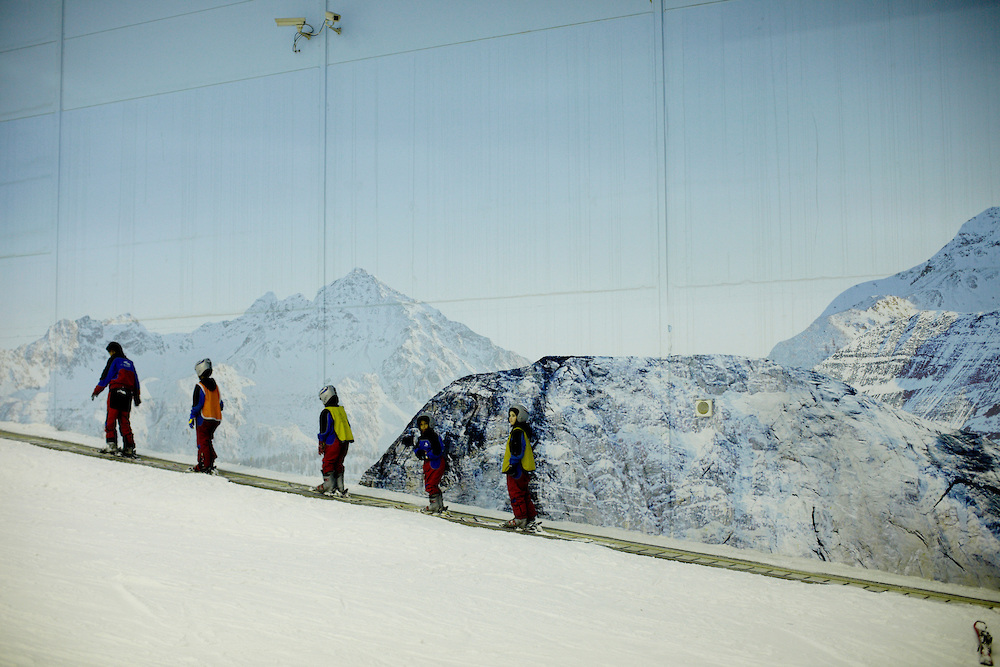 Dubai The Largest Indoor Ski Resort In The World