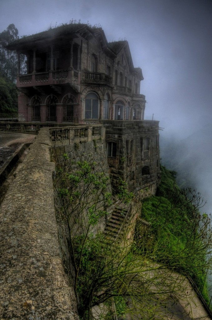 Amazing Abandoned Places Around the World - Part3: El Hotel del Salto in Colombia