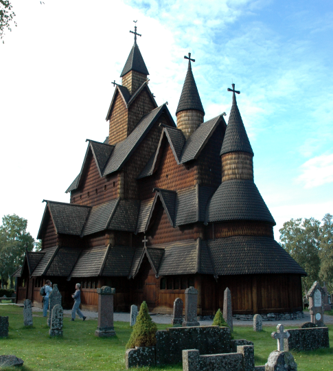 Beautiful Churches In Europe: Heddal Stave Church