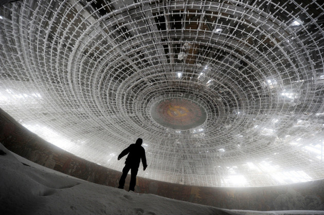 Amazing Abandoned Places Around the World - Part3: House of the Bulgarian Communist Party