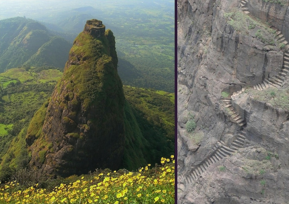 Amazing Abandoned Places Around the World: Kalavantin Durg near Panvel, India