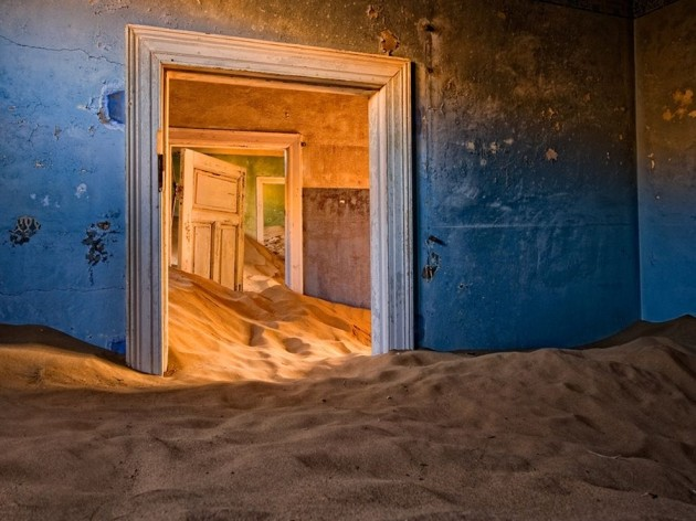 Amazing Abandoned Places Around the World: Kolmanskop in the Namib Desert