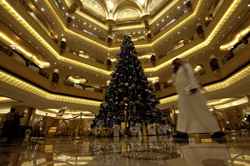 Most Expensive Christmas Tree in the World via arabianbusiness.com