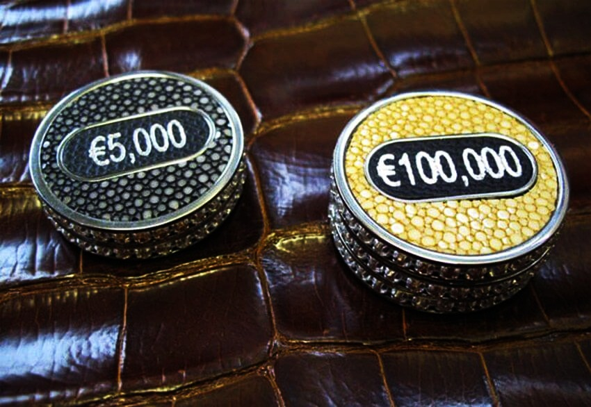 Most Expensive Poker Set in the World via justluxe.com