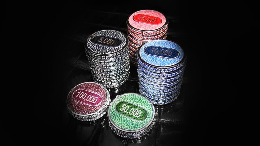 Most awesome poker set in the world