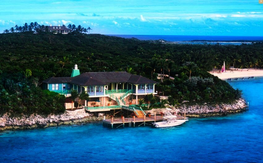 Most Expensive Private Island Rental | The Highview house with ocean views