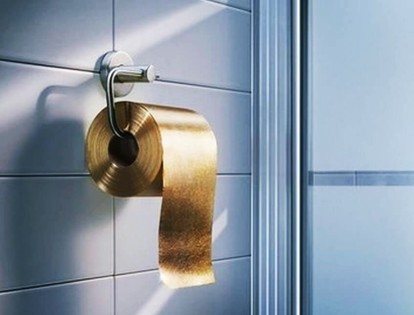 Most Expensive Toilet Paper in the World via imgbuddy.com