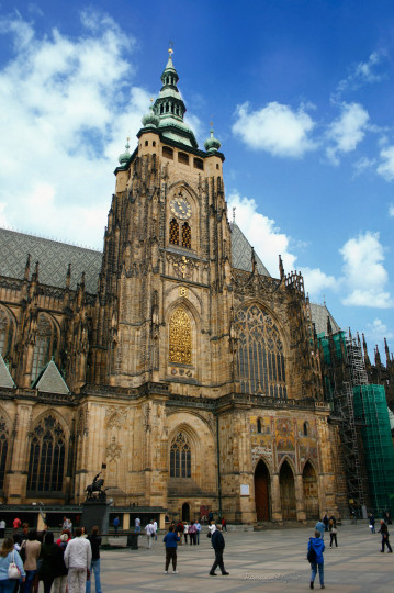 Beautiful Churches In Europe: Saint Vitus' Cathedral
