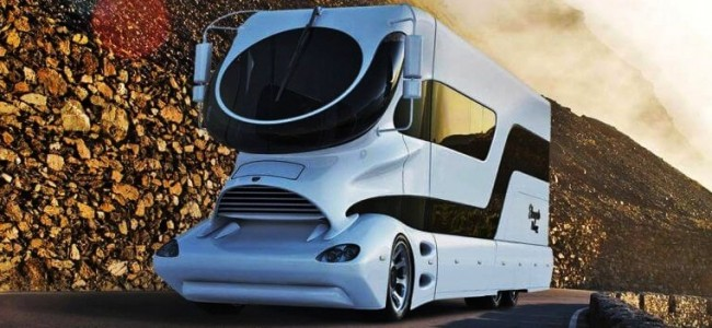 Travel with the Most Expensive Motor Home in the World: eleMMent Palazzo