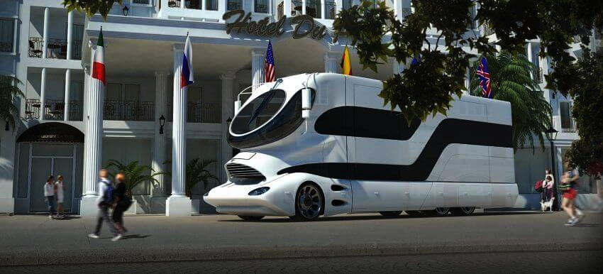 Most Expensive Motor Home in the World: eleMMent Palazzo | The world's most expensive motor home has gone on sale in Dubai.