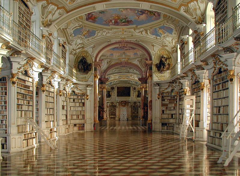 admont-abbey-library-austria Incredible Libraries Around The World