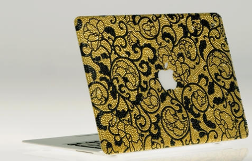 Most Expensive Apple MacBooks In The World: <b>Bling My Thing MacBook Air</b>
