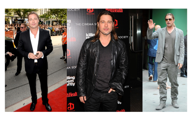 brdptt Stylish Male Celebrities 2013 :  #4 Brad Pitt