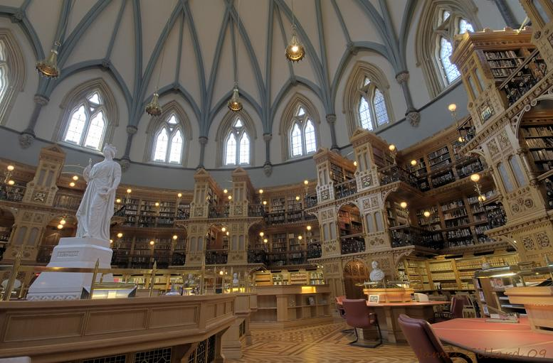 canadian-library-of-parliament Incredible Libraries Around The World