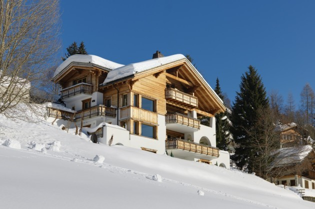 Most Expensive Ski Chalets In The World: Chalet Chesa Falcun - Klosters