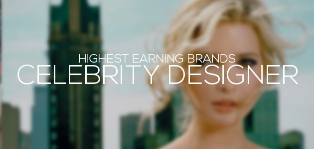 Highest Earning Celebrity Designer Brands