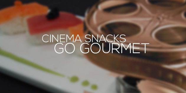 cover cinema snaks go gurmet
