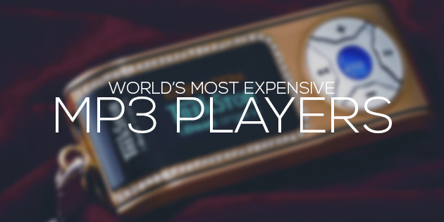cover most expensive mp3 players