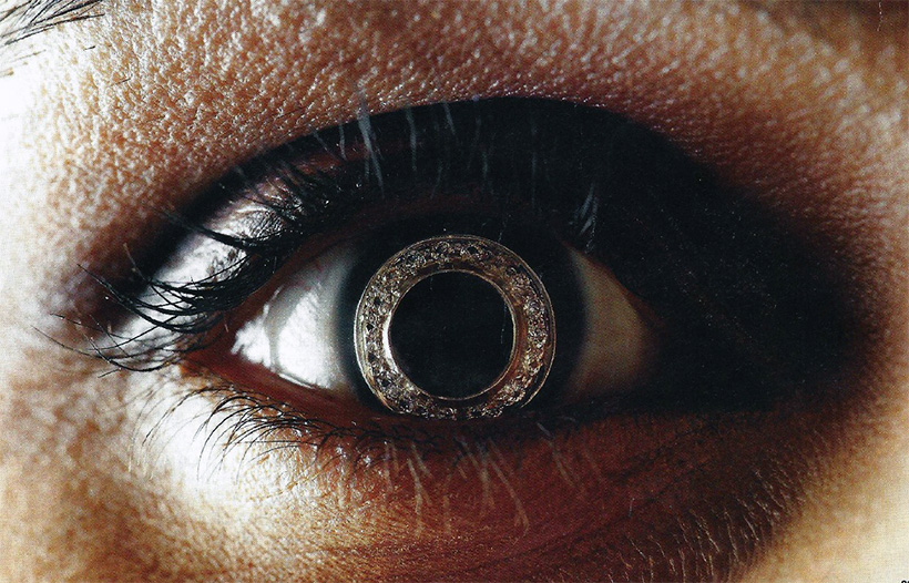 diamond contact lenses world's most expensive