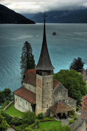 Beautiful Churches In Europe: Schloss Spiez Church