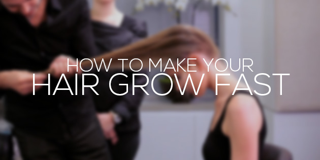 how to make hair grow fast