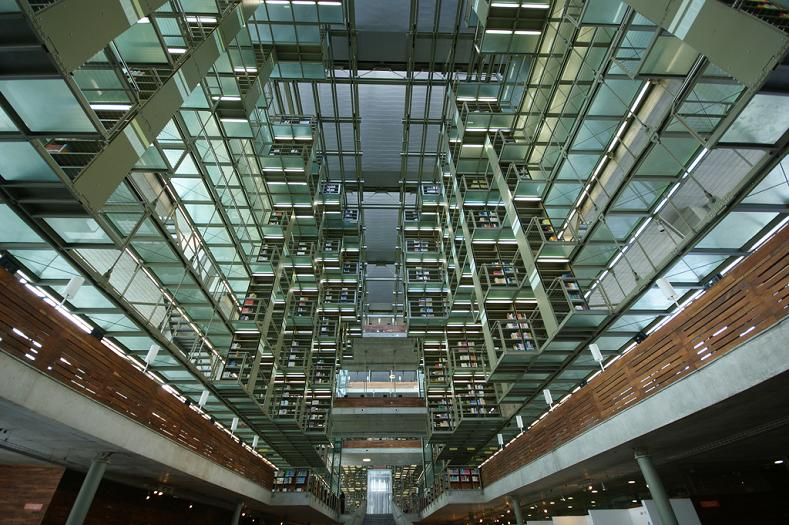 jose-vasconcelos-library-mexico-city Incredible Libraries Around The World