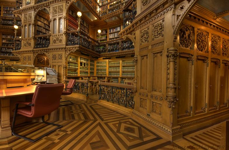 parliament-library-of-canada-in-ottawa Incredible Libraries Around The World