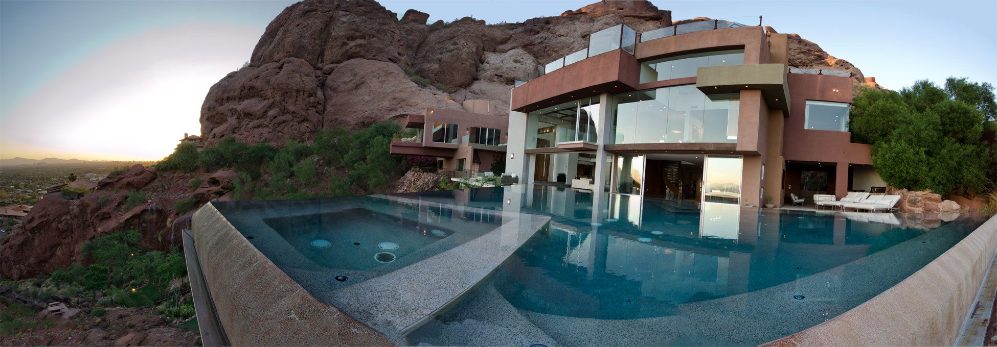 Most expensive bathrooms in the world - Pool_panorama Most Expensive Vacation Rentals In The World