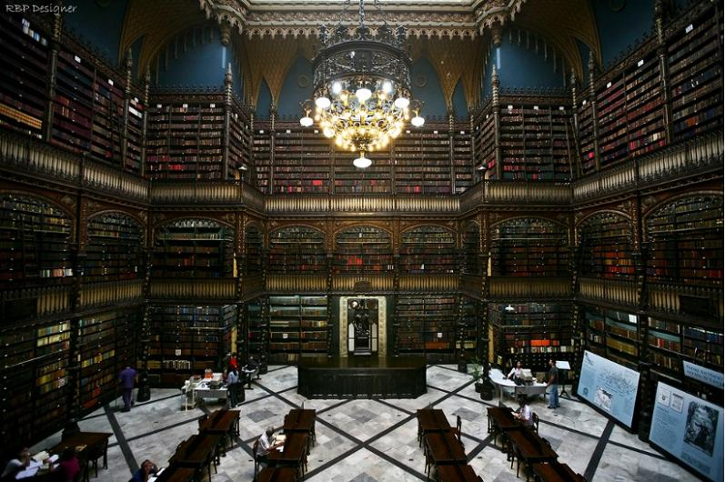 real-gabinete-rio-de-janiero-brazil Incredible Libraries Around The World