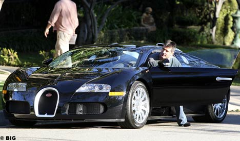 simon-cowell-and-his-bugatti-veyron_100226394_m Celebrities With The Most Expensive Cars