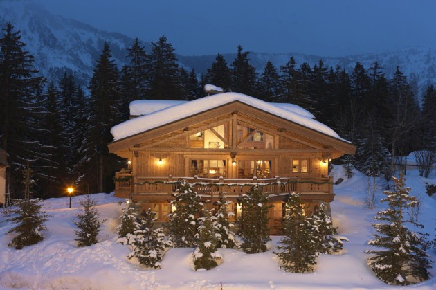 Most Expensive Ski Chalets In The World: Chalet Le Blanchot - Courchevel