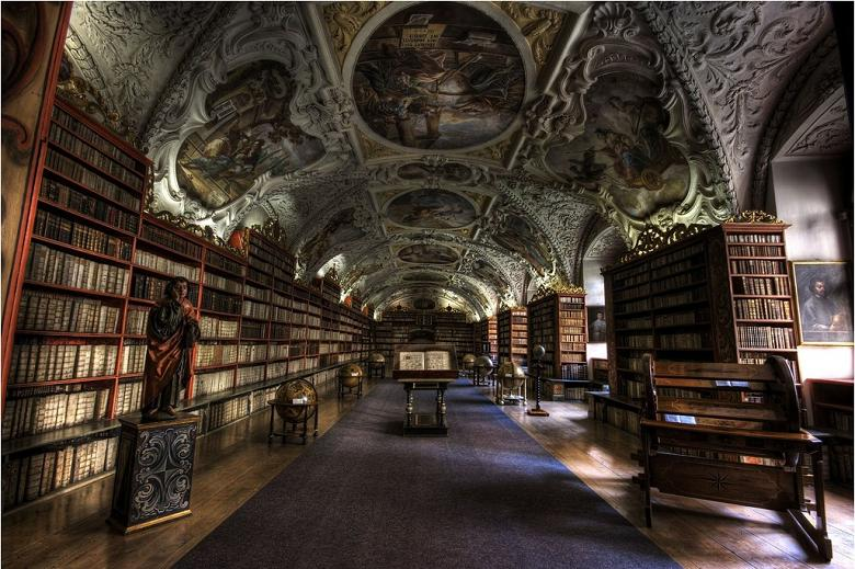strahov-theological-hall-prague Incredible Libraries Around The World