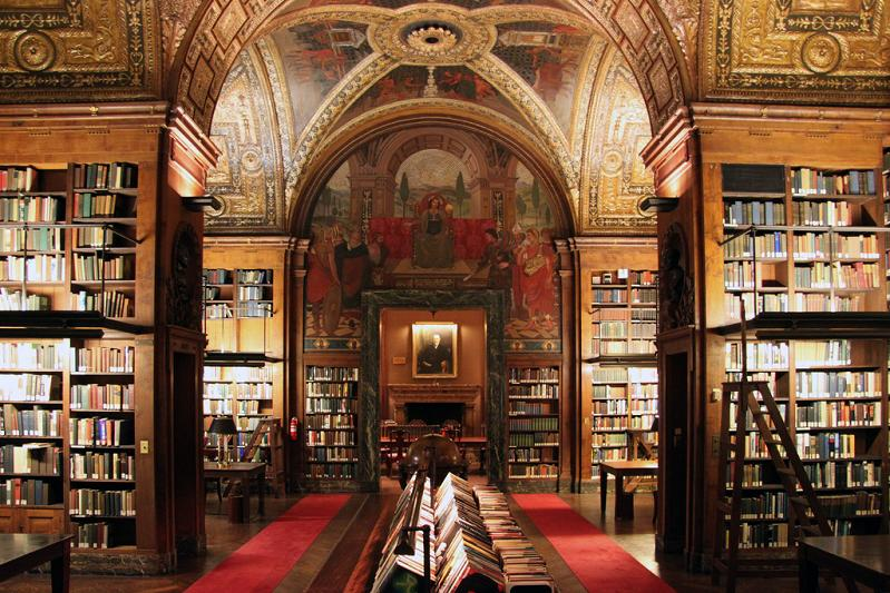 the-university-club-library Incredible Libraries Around The World