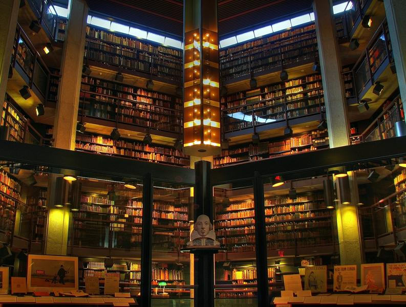 thomas-fisher-rare-book-library-university-of-toronto Incredible Libraries Around The World