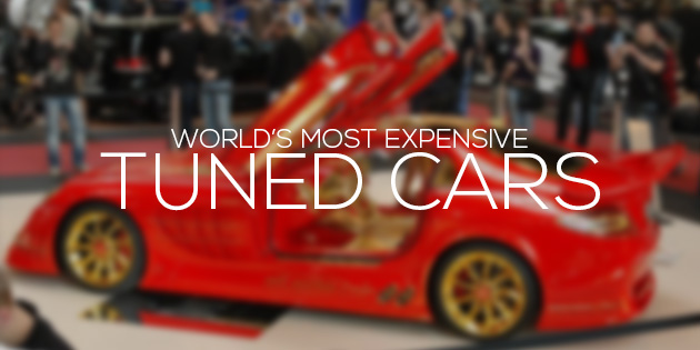 tuned cars most expensive