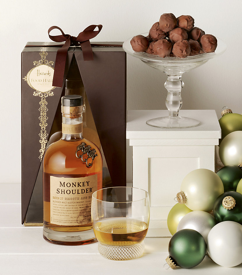 whisky and truffles Valentines Gifts For Him