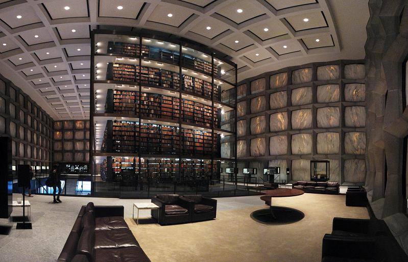 yale-rare-book-library Incredible Libraries Around The World