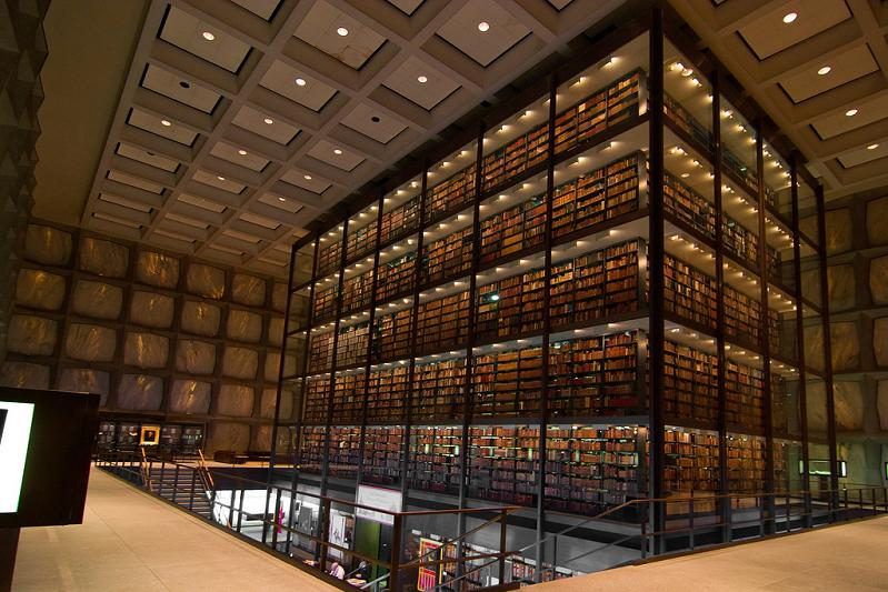 yale-university-beinecke-rare-book-and-manuscript-library Incredible Libraries Around The World