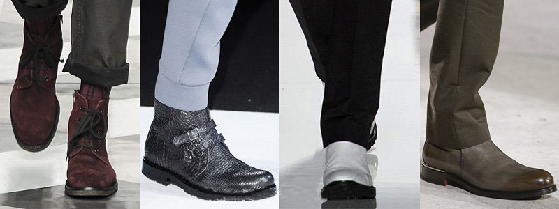Robert Geller, Emporio Armani, Michael Kors, Hermes Boots For Fall-Winter 2013-2014 | Men's Fashion