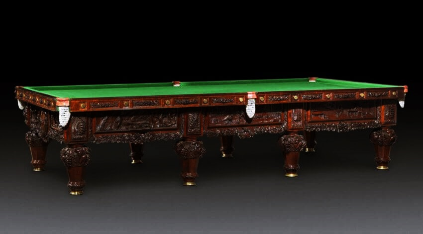 Top 10 Most Expensive Pool Tables in the World - EALUXE | The 'History of